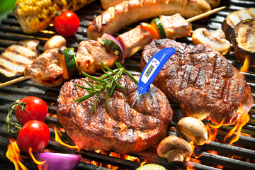 blue_grilled thermometer